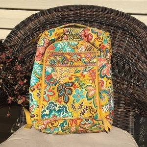 Vera Bradley Provencal Laptop Back Pack